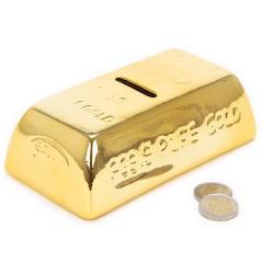 Hucha Cerámica Lingote de Oro - 5,61 €