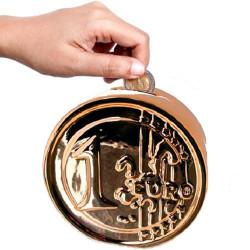 Hucha de Cerámica Moneda de Euro - 3,92 €
