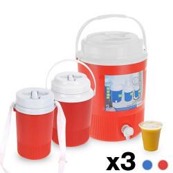 Barriles Bebidas Camping (3 piezas) - 24,03 €