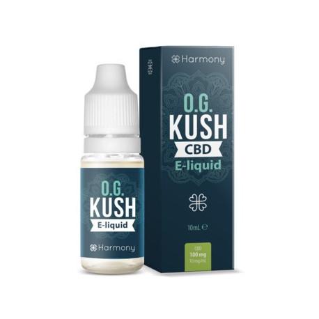 E-LÍQUIDO HARMONY CBD OG KUSH 100mg 10ml Sin Nicotina