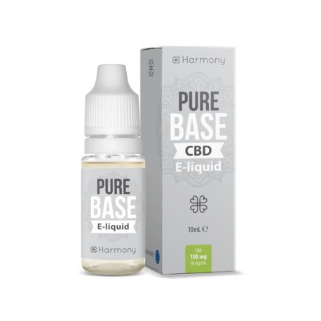 E-LÍQUIDO HARMONY CBD PURE BASE 100mg 10ml