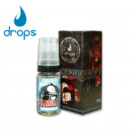 E-líquido DROPS HANNIBAL 6mg/ml 10ml