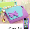 Funda compatible con iphone Bolso con Perlas - 10,67 €