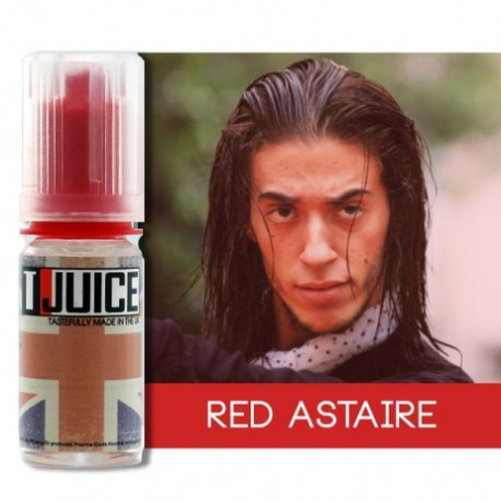 E-LÍQUIDO T-Juice sabor Red Astaire sin nicotina 10 ml